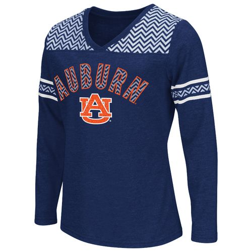 Colosseum Athletics™ Girls' Auburn University Cupie Long Sleeve