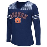 Colosseum Athletics™ Girls' Auburn University Cupie Long Sleeve T-shirt