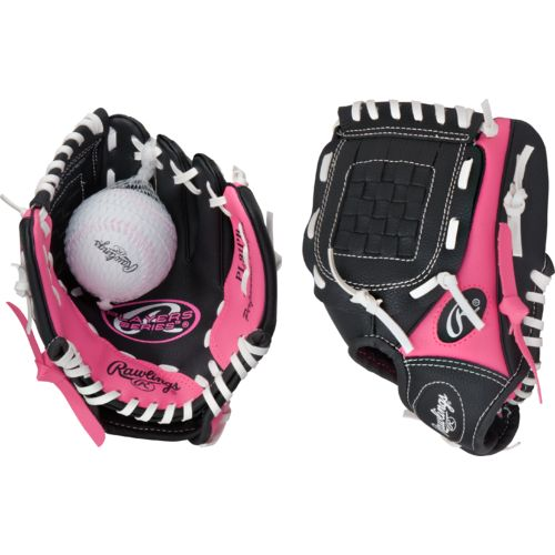 Display product reviews for Rawlings Youth Players Series 9 in T-ball Glove with Ball
