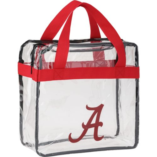 Display product reviews for Forever Collectibles™ University of Alabama Clear Messenger Bag