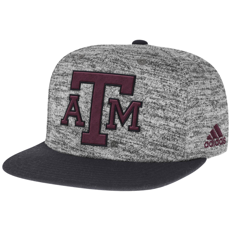 adidas™ Men's Texas A&M University Player Snapback Cap
