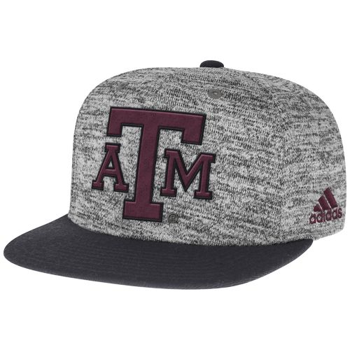 adidas™ Men's Texas A&M University Player Snapback Cap