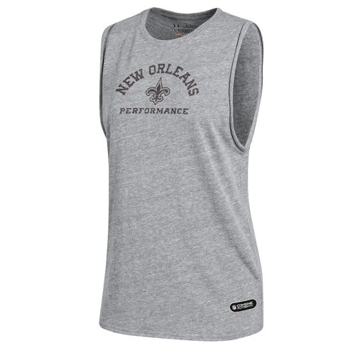 Under Armour™ NFL Combine Authentic Women's New Orleans Saints Muscle Tank Top - view number 1