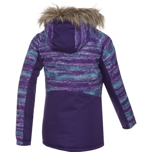 Free Country Girls' Radiance Colorblock Snowboard Jacket - view number 3
