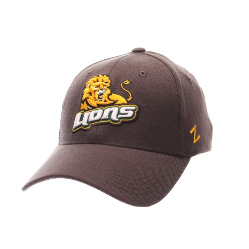 Zephyr Men's Southeastern Louisiana University Charcoal Flex Cap