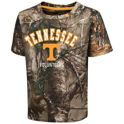 Colosseum Athletics™ Toddler Boys' University of Tennessee Blacktail Camo T-shirt