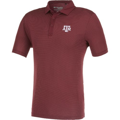 Columbia Sportswear™ Men's Texas A&M University Omni-Wick™ Sunday Polo Shirt