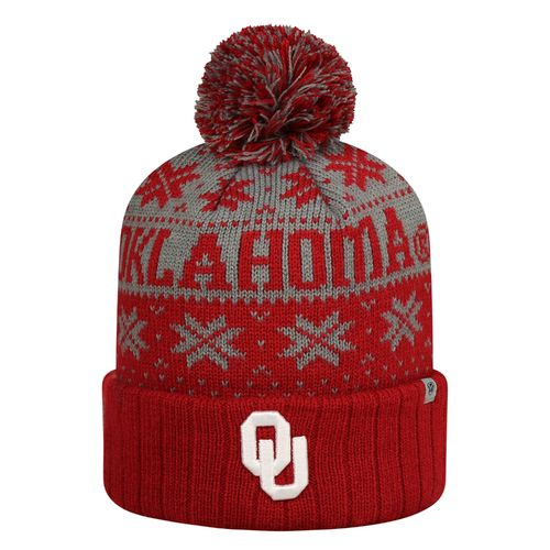 Top of the World Men's University of Oklahoma Subarctic Knit Cap