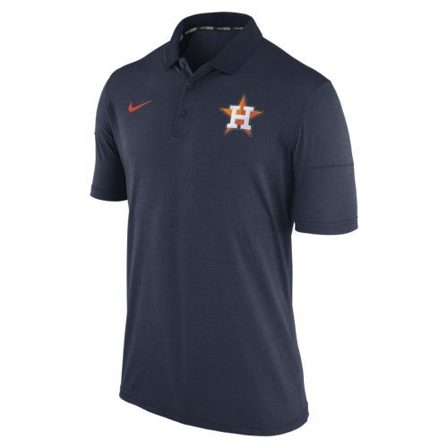 Nike Men's Houston Astros Short Sleeve Polo Shirt