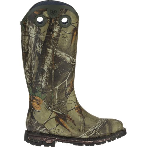 Ariat Men's Conquest Buckaroo Realtree Xtra® Rubber Hunting Boots