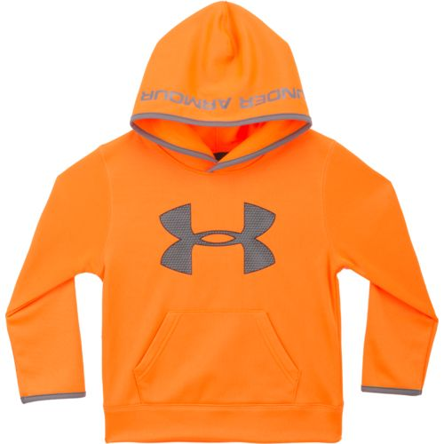 Under Armour Boys' Highlight Big Logo Pullover Hoodie