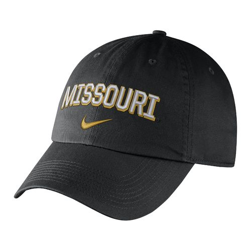Nike Men's University of Missouri Heritage86 Wordmark Swoosh Flex Cap - view number 1