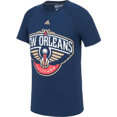 adidas Men's New Orleans Pelicans climalite Ultimate Short Sleeve T-shirt