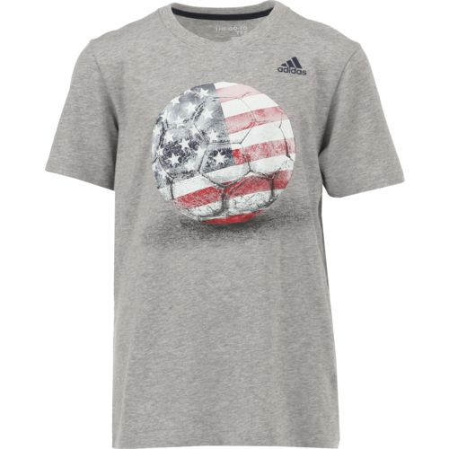 Display product reviews for adidas Boys' climalite Field and Court T-shirt