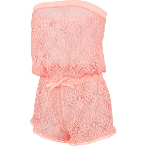 O'Rageous® Juniors' Crochet Romper