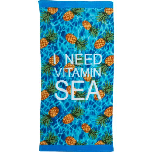 O'Rageous Kids' Vitamin Sea Beach Towel