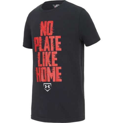 Under Armour Boys' No Plate Like Home Short Sleeve T-shirt