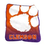Logo Clemson University 50 in x 60 in Raschel Throw - view number 1