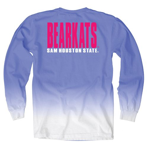 Blue 84 Women's Sam Houston State University Ombré Long Sleeve Shirt