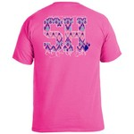 Image One Women's Sam Houston State University Ikat Letter Script T-shirt - view number 1