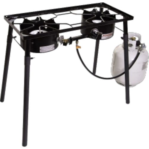 Display product reviews for Camp Chef Pioneer 2-Burner Propane Stove