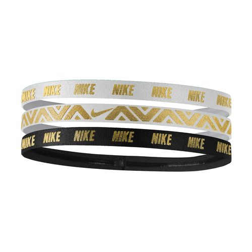 Nike Women's Metallic Hair Bands 3-Pack