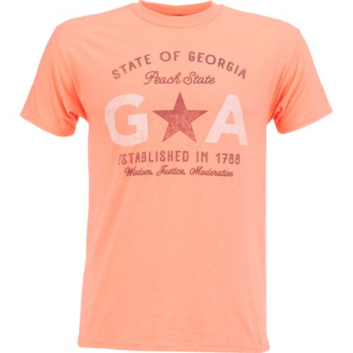Academy Sports + Outdoors Men's Georgia Peach State T-shirt