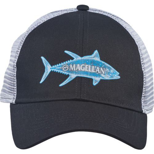Magellan Outdoors Men's Sketched Tuna Trucker Cap