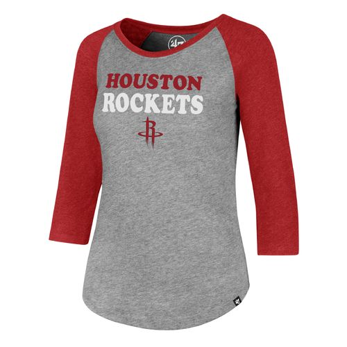 '47 Houston Rockets Women's Wordmark Raglan T-shirt