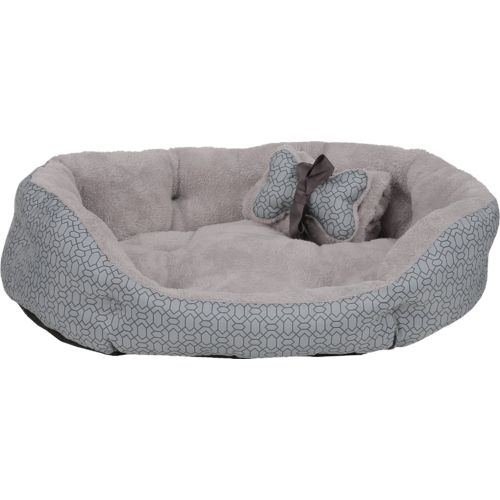 Dallas Manufacturing Company 27 in x 36 in Solid Print Pet Bed