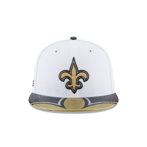 New Era Men's New Orleans Saints 59FIFTY NFL17 Official On Stage Cap - view number 1