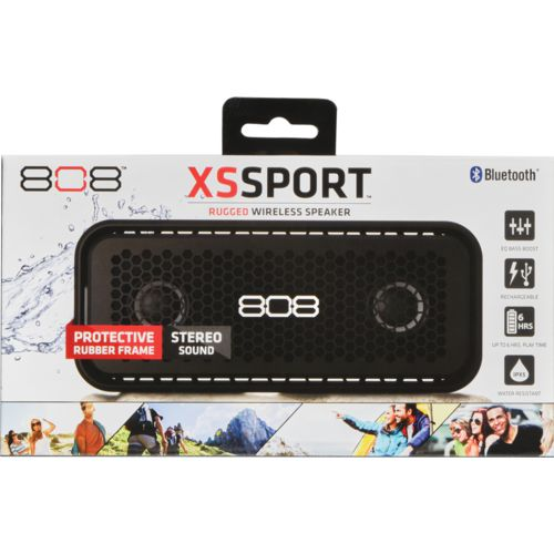 808 Audio XS Sport Bluetooth Rugged Wireless Speaker