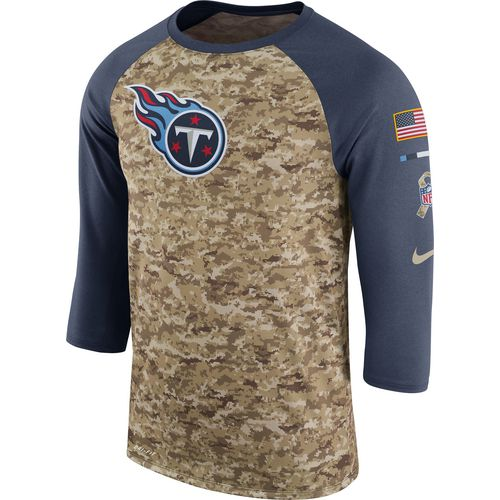 Nike Men's Tennessee Titans Salute to Service '17 Legend Raglan T-shirt