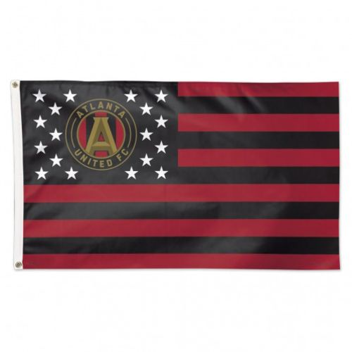 WinCraft Atlanta United FC Deluxe 3 ft x 5 ft Stars and Stripes Flag