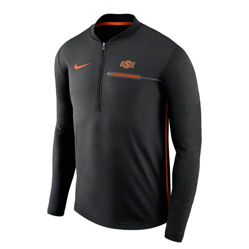 Nike™ Men's Oklahoma State University Coaches 1/4 Zip Pullover