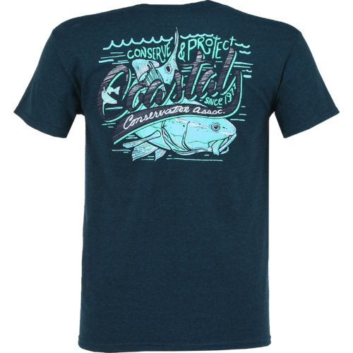 Display product reviews for CCA Men's Script Redfish T-shirt