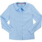 French Toast Toddler Girls' Modern Peter Pan Long Sleeve Blouse - view number 1