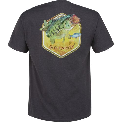 Guy Harvey Men's Lancer Pocket T-shirt