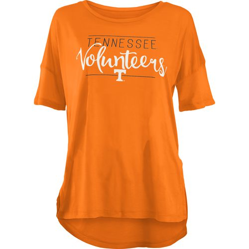 Three Squared Juniors' University of Tennessee Script T-shirt