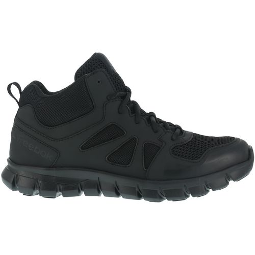 Reebok Men's SubLite Cushion Tactical Electric Hazard Mid Work Shoes