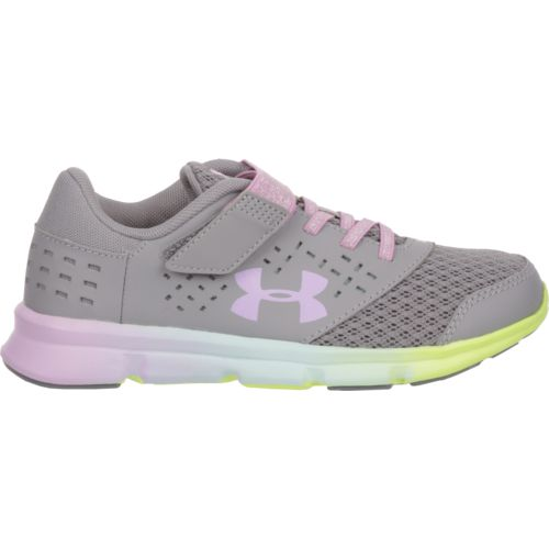 Under Armour Girls' Rave RN Prism Running Shoes - view number 1