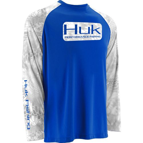 Display product reviews for Huk Men's Kryptek Long Sleeve Raglan T-shirt