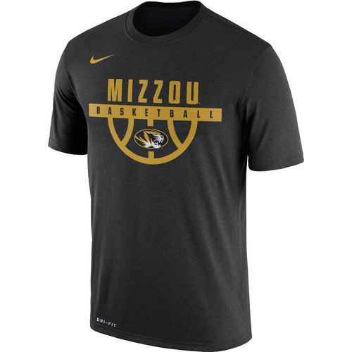 Nike Men's University of Missouri Dry Legend Basketball Short Sleeve T-shirt