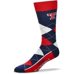 For Bare Feet Men's Originals Texas Rangers Argyle Socks - view number 1