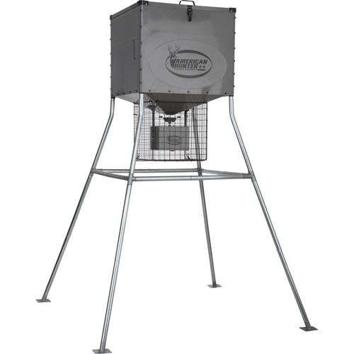 American Hunter Knock Down 440 lb Digital Deer Feeder Kit