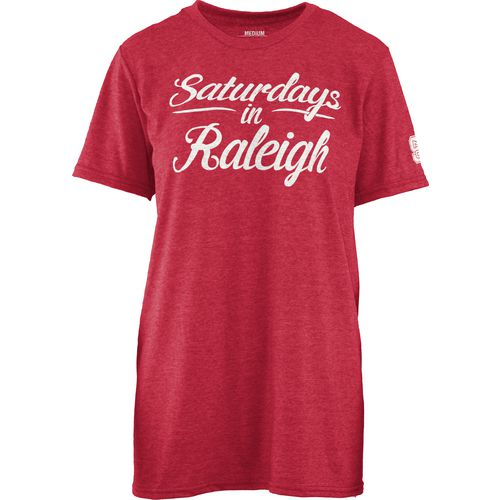 Three Squared Juniors' North Carolina State University Saturday T-shirt