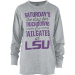 Three Squared Juniors' Louisiana State University Touchdowns and Tailgates T-shirt - view number 1