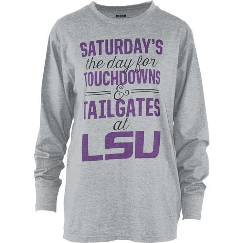 Three Squared Juniors' Louisiana State University Touchdowns and Tailgates T-shirt