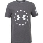 Under Armour Boys' Freedom Logo Short Sleeve T-shirt - view number 1