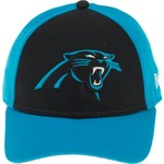 New Era Men's Carolina Panthers 9FORTY The League Blocked Cap - view number 1